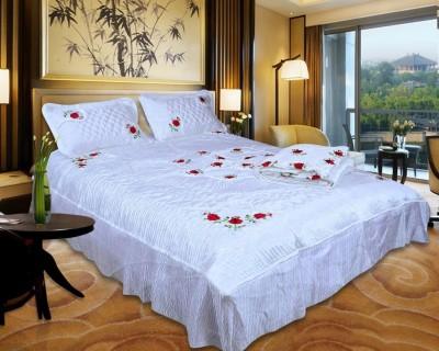 El Sandlo Ethnic Raw Silk Bedding Set