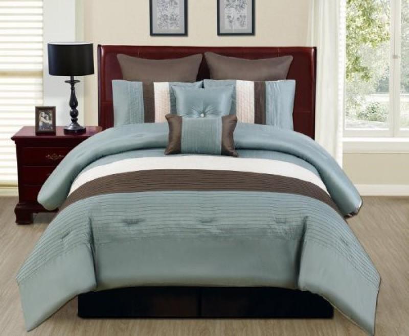 Bella King Cotton Duvet Cover(Blue)