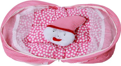 ROYAL SHRI OM BABY SLEEPING BED,PILLOW WITH MOSQUITO NET Mosquito Net