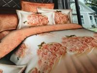 Tima Polycotton Bedding Set(Peach)