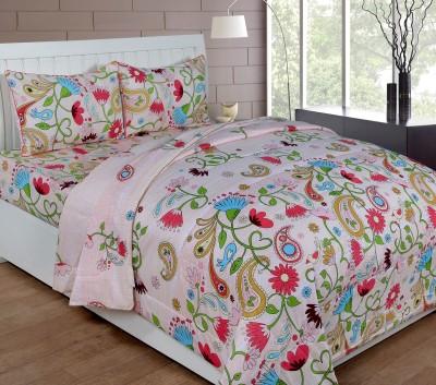 Shivalik Cotton Bedding Set(Peach)