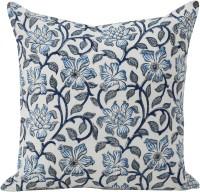Tezerac Floral Cotton Bedding Set(Blue)