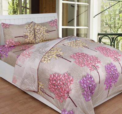 Shivalik Cotton Bedding Set(Brown)