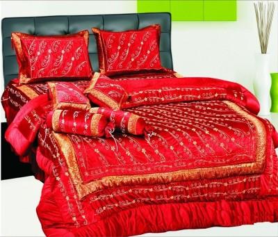 Sanyam Decor Velvet Bedding Set