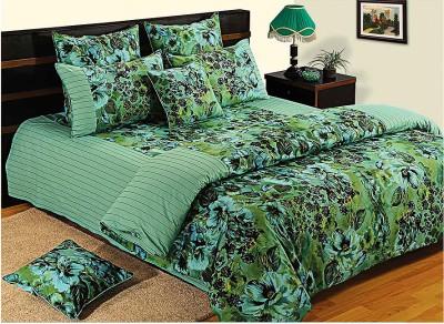 Swayam Shades of Paradise Cotton Bedding Set