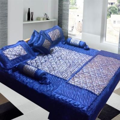 Royal Shades of Paradise Satin Bedding Set