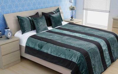 Unravel India FSBS0026 Velvet, Polyester, Satin Bedding Set