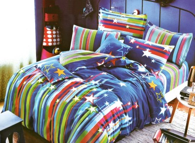 Instyles Soflene Polyester, Cotton Bedding Set
