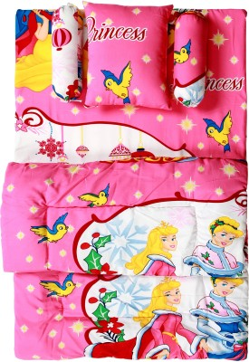 ROYAL SHRI OM BABY BEDS STANDARD CRIB(POLYCOTTON, Multicolor)