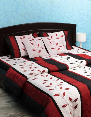 Isha Collections Elegance Pure Silk, Cotton, Velvet, Polyester, Wool Bedding Set