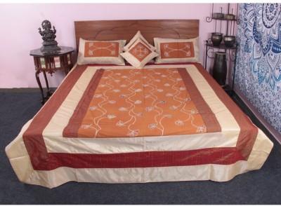 Jaipur Textile Hub Cotton Silk Blend Bedding Set
