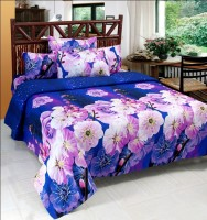 Wonder Collection Floral Polycotton Bedding Set(Multicolour)