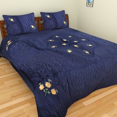 Anvi Impex Satin, Cotton Bedding Set