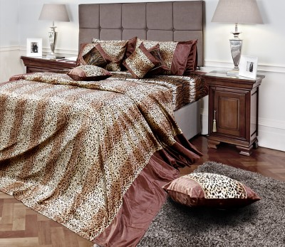 A,la Mode Designer Double Bedspread Velvet Bedding Set
