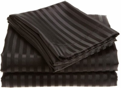Scalabedding Cotton Striped Queen sized Double Bedsheet