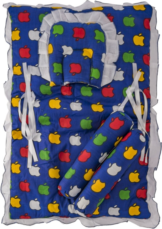 Love Baby Cotton Bedding Set(Blue)
