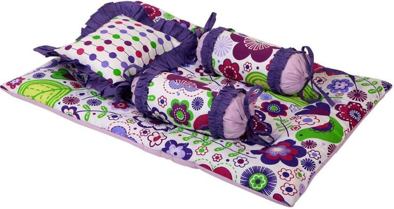 Bacati Velcro Cotton Bedding Set(Multicolor)