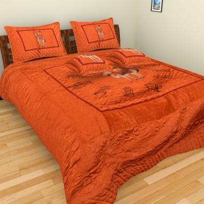 Anvi Impex Satin Bedding Set