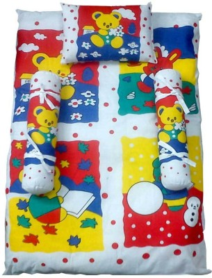 Baby Basics Cartoon Print Cotton Bedding Set
