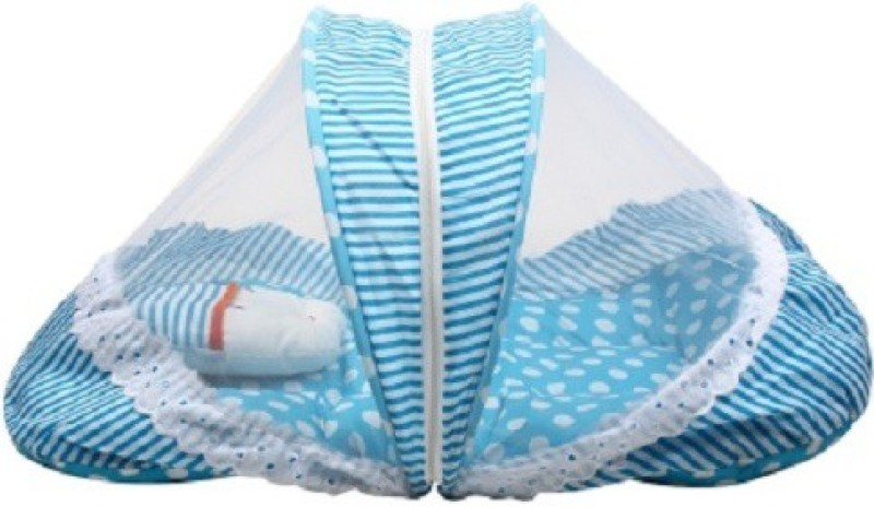 Anmol Cotton Bedding Set(Light Blue)