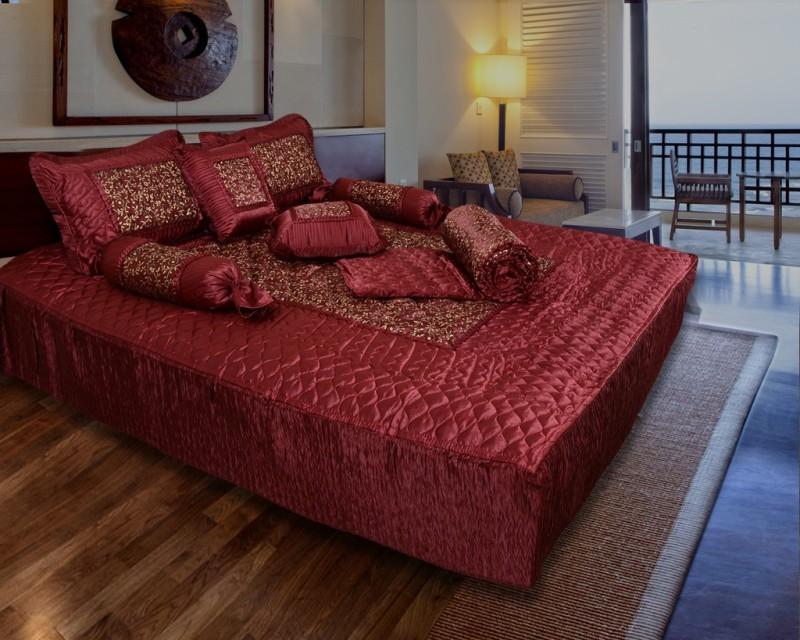 Rangsthali Satin Bedding Set Designer Bedding Set