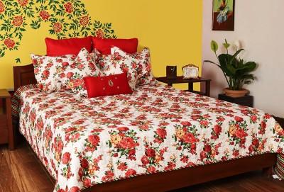 Turu India Floral desire Cotton, Polycotton Bedding Set