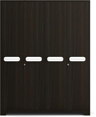 Spacewood Engineered Wood Free Standing Wardrobe