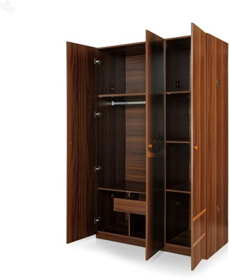 Royal Oak Daisy Engineered Wood Free Standing Wardrobe