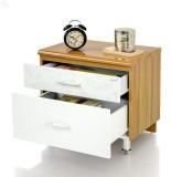 Royal Oak Olive Engineered Wood Bedside ...