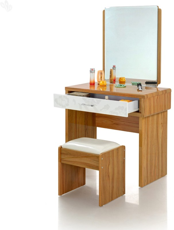 Royal Oak Daisy Engineered Wood Dressing Table(Finish Color - Pale Natural)