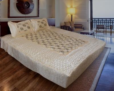 Rangasthali Satin Animal Double Bedsheet