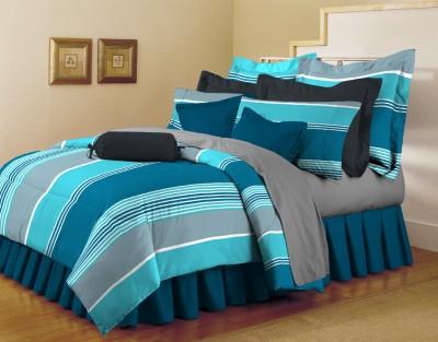 Arto Cotton Striped Single Bedsheet