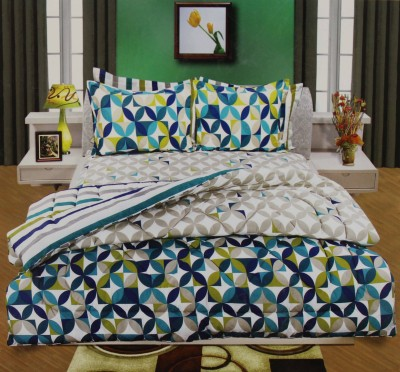 Onlinemaniya Cotton Floral Double Bedsheet