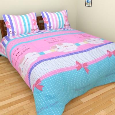 Brida Polycotton Cartoon Double Bedsheet