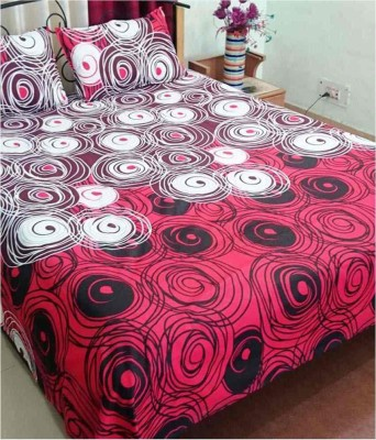 Stanley Cotton Abstract Double Bedsheet