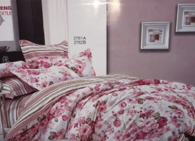 Cosy Cotton Floral King sized Double Bedsheet