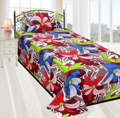 Zesture Cotton Cartoon Single Bedsheet