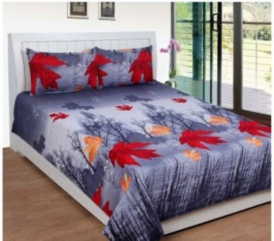 Ramcha Polycotton Floral Double Bedsheet