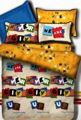 Autre Allure Polycotton Abstract Double Bedsheet