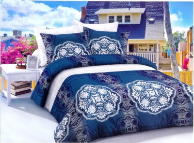 Senorita Cotton Floral Double Bedsheet