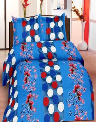 Koncepts Cotton Geometric Double Bedsheet