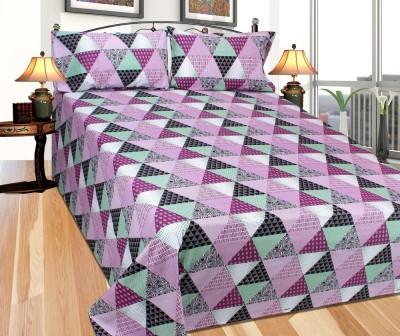 Needdle X Cotton Printed Double Bedsheet