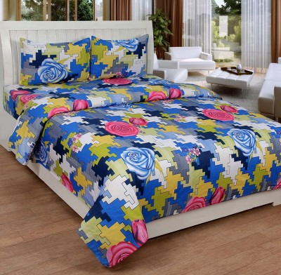 Ultimate Home Decor Cotton Abstract Double Bedsheet
