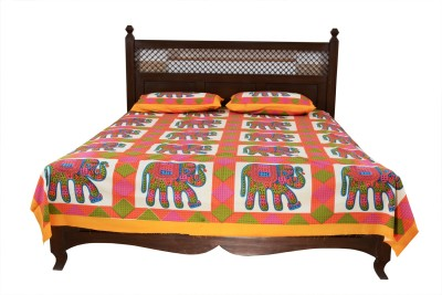 Soundarya Cotton Animal Double Bedsheet