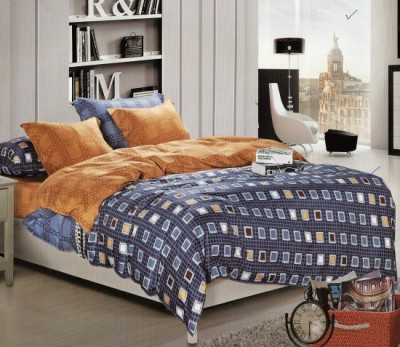 Sassoon Cotton Abstract Queen sized Double Bedsheet