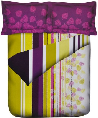 @home Striped Double Quilts & Comforters Multicolor