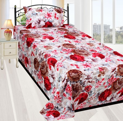 Milan Cotton Printed Single Bedsheet