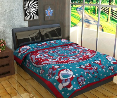 CottonHandiCluse Cotton Cartoon Single Bedsheet
