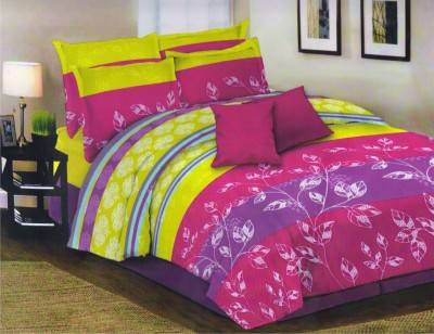 Loura Cotton Printed Double Bedsheet