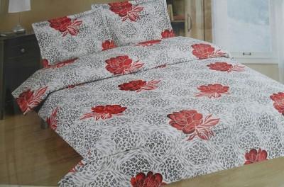 GLOW Cotton Floral Bedsheet